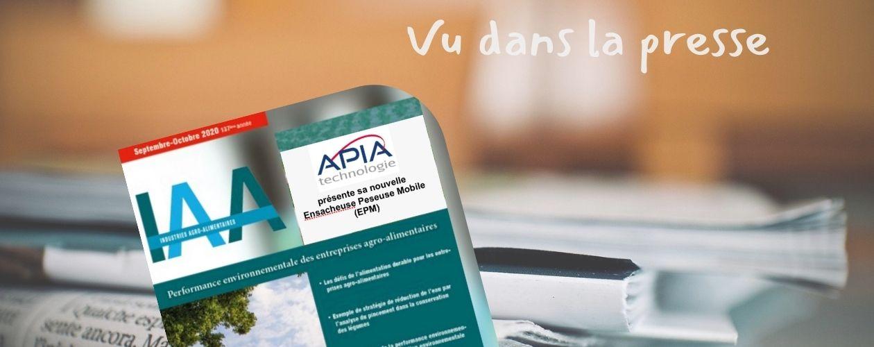 IAA • EPM • Focus sur la manutention des poudres alimentaires