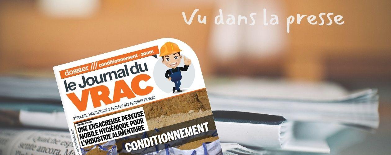 Le Journal du Vrac • EPM • Conditionnement pour l'industrie alimentaire