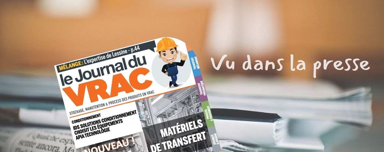 Le Journal du Vrac • IDS Solutions Conditionnement choisit APIA Technologie