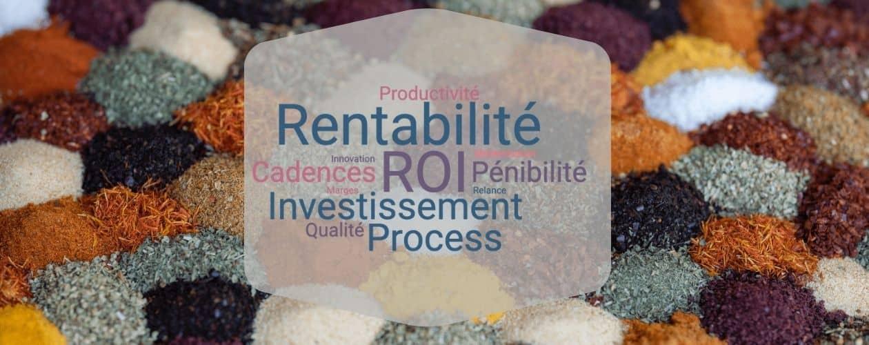 6 conseils pour rentabiliser les investissements machines des usines en IAA